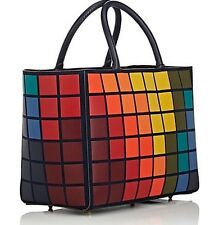 SOLD OUT Anya Hindmarch Ebury Giant Multicolor Pixels Small Tote