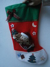 Calza natalizia Natale Christmas sock befana addobbo festone decorazione
