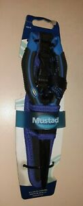 """Mustad 8"""" Needle Nose Fishing Pliers MSTD-4A Wire Cutters Crimper Sheath"""