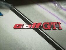 VW Golf 2 GTI Heckemblem Heckklappe rot Fire Edition Emblem 16V G60