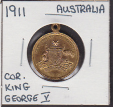 1911 Australia King George V & Queen Mary Coronation Medal