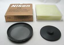 Original Nikon 72mm Circular Polarizing Screw Mount Filter with Case Boxed MINT