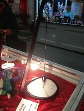 "Grand Illusions-Pit & Pendulum Art Designs in sand-Zen-NIB-Cherry w/Cm Large 23"""