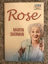 Rose by Martin Sherman Hardcover