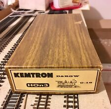 Brass Kemtron HOn3 Intermediate C-16 Kit, unstarted, late run w/can motor