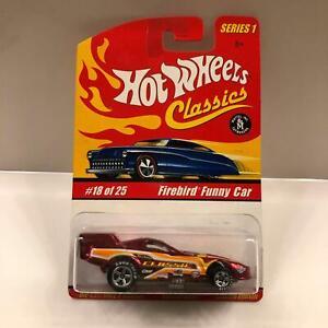 Hot Wheels Classics Series 1 Firebird Funny Car #18/25 Special Paint V7