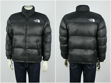 Mens Vintage 90s The North Face 700 Puffer Jacket Black Nylon Size S/M