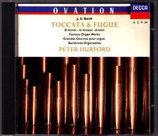 Peter HURFORD: BACH Toccata & Fugue BWV 565 Gantasia Passacaglia Organ Orgel CD