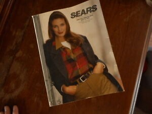 Vintage 1992 1993 Sears Catalog Fashion Home Goods Apparel Shopping Department