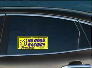 No Good Racing Slap Vinyl Decal Sticker JDM Honda Civic EF9 EK9 EK4 Integra B16A