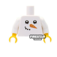 LEGO Minifigure Custom Printed Torso - Happy Christmas Snowman Jumper