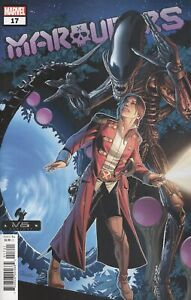 MARAUDERS #17 LARROCA MARVEL VS ALIEN VARIANT VF/NM 2021 MARVEL COMICS HOHC