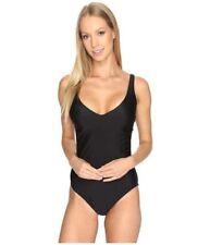 Speedo Women's Powerflex Eco Strappy One Piece Swimsuit, Speedo Black, SZ L