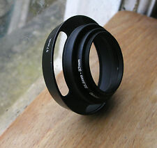 35.5mm  screw in lens hood 2 part