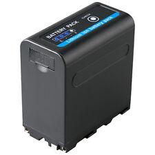 Akku für Sony NP-F980 | 10050mAh | 65237| NP-F750 | mit 5V USB Ausg. und DC 8,4V