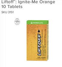 NEW HERBALIFE Liftoff®:  Ignite-Me Orange 10 Tablets