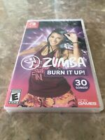 Zumba: Burn It Up! - Nintendo Switch - Fast Free Shipping. Mark On Spine