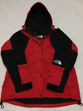 Vtg 90s The North Face Goretex Red Colorblock Mountain Light Jacket M Guide 80s