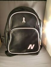 New Balance Black Backpack With Ribbon Pink Trim, New Condition