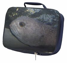 Ugly Fish Navy Insulated School Lunch Box Bag, AF-26LBN