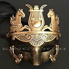 Men Greek Roman Warrior Venetian Masquerade Halloween Prom Mask