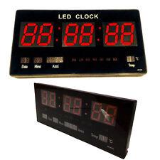 456434 Orologio da parete a LED 1pz