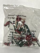 Tudor Electric Football Game Team Bag #67-72-D (11 Players per Bag Oklahoma) NEW