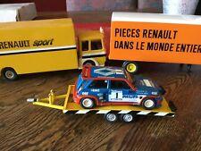 Remorque Trailer Porte Voiture Renault Sport 5 Maxi Turbo Ragnotti Saby Rallye