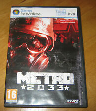 Metro 2033 (PC: Windows, 2010)
