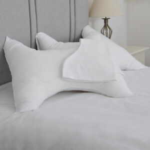 White Polycotton Pillowcase only for Butterfly Pillow® - Back and Neck Support