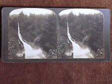 Oregon/6 Mile Long Mill to Railroad Lumber Flume/1904 H C White Stereoview