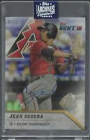 Jean Segura Topps Archives Signature Series On card SP Autograph/21 MLB!!