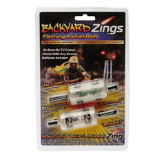Backyard Zing Flashing Cricket Bails - Batteries Included Fast Free Postage