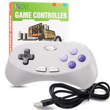 Gaming Controller Joypad Connect PC & Mac &R For Retro Super SNES / NES US Game