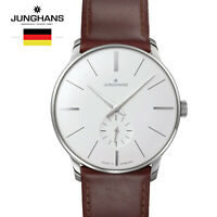 Junghans Meister Hand-winding 027/3200.00 Leather Watch for Man &Woman