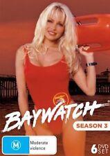 Baywatch Season 3 (2015, DVD NEUF)6 DISC SET