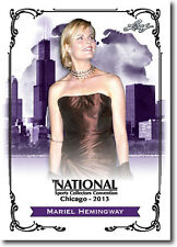 MARIEL HEMINGWAY - Actress in Dorothy Stratten & Lipstick - 2013 Leaf PROMO Card