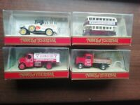 4 Matchbox Models Of Yesteryear