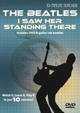 10 Minute Teacher The Beatles I Saw Her Standing There Learn TAB Guitar DVD