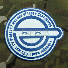 GHOST IN THE SHELL  Laughing Man Logo 3D PVC Patch (NO.PB496)