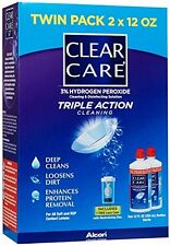 Clear Care Cleaning & Disinfection Solution, Twin Value Pack 24 oz Each
