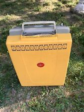 Vtg mid century Hoover Portable Vacuum cleaner model 2204 Attachments -Works