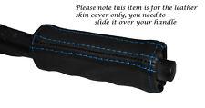 Mango de punto azul de freno de mano cubierta de cuero adapta Mercedes SL C107 R107 71-89