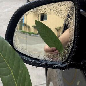 2 Car Anti Fog Anti-glare Rainproof Rearview Mirror Trim Film Cover Accessories
