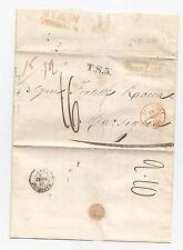 J695-INCOMING MAIL-PREF.BARLETTA/MARSIGLIA 1845