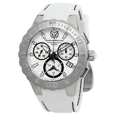 Technomarine Cruise Medusa Chronograph White Dial Mens Watch 115074
