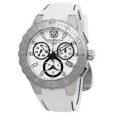 Technomarine Cruise Medusa Chronograph White Dial Mens Watch 115074