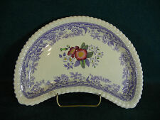 Copeland Spode Mayflower Crescent Shaped Side Salad Plate