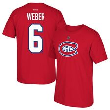 ad89ea289 Reebok Shea Weber Montreal Canadiens Red Name   Number T-shirt L