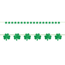 St Patricks Day Party Shamrock Banner